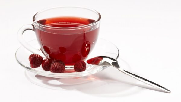 food fruits red tea raspberry glass cup saucer metal spoon 1920x1080 1