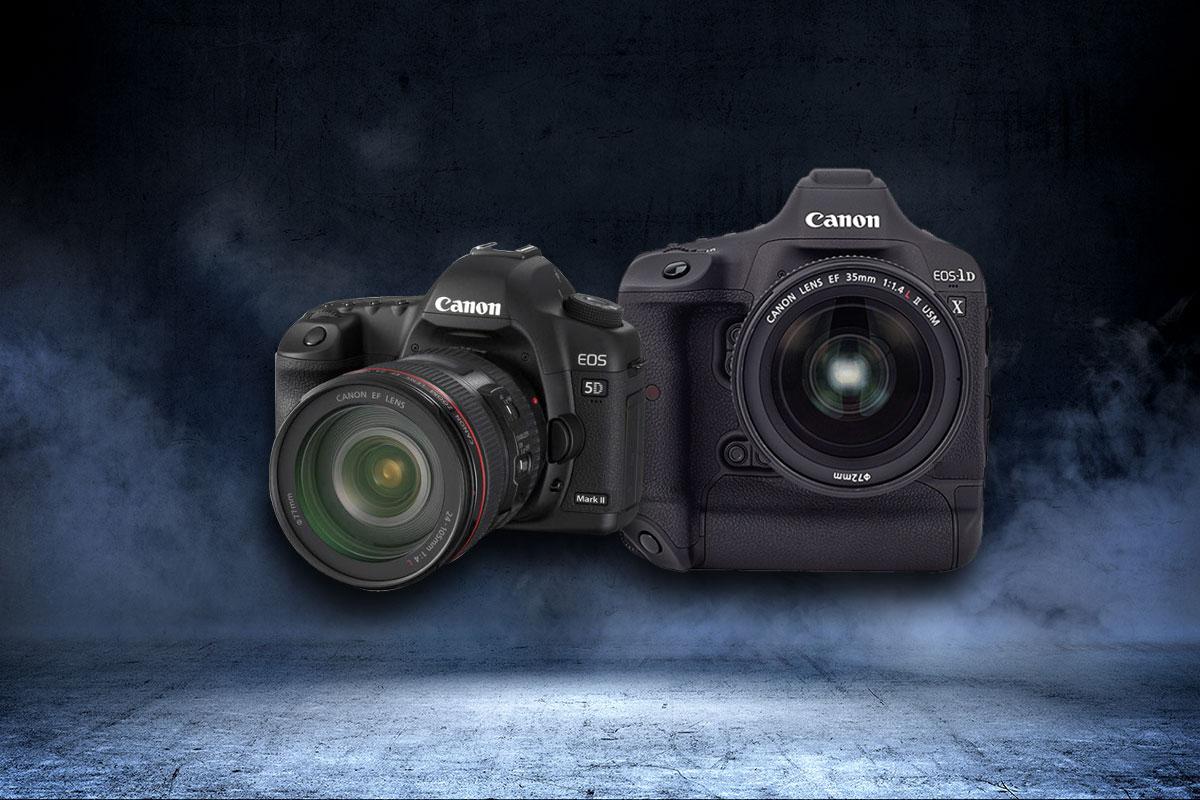 Canon EOS 5D Mark III si Canon EOS-1D X