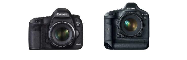 Canon EOS 5D Mark III vs Canon EOS 1D X
