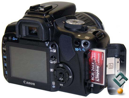 Tipuri de imagine, rezolutie si carduri de memorie pentru camerele Canon EOS